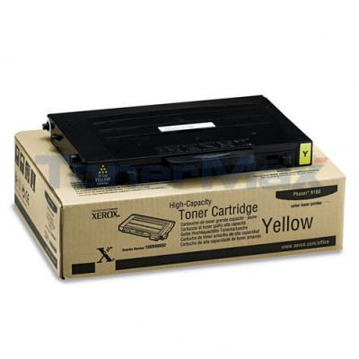 XEROX PHASER 6100 TONER CART YELLOW 5K